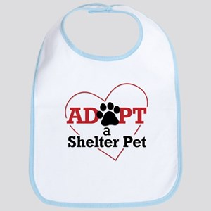 Adopt a Shelter Pet Bib